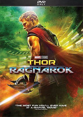 Thor: Ragnarok (DVD, 2018) SHIPS IN 1 BUSINESS DAY WITH TRACKING
