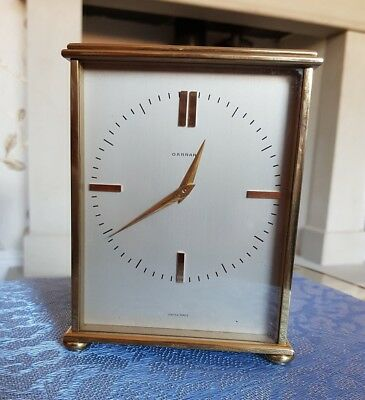 8 Day Garrard Carriage/Mantle clock Solid Brass