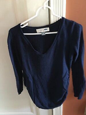 Old Navy Maternity Sweater.  Navy Blue.  Size Small