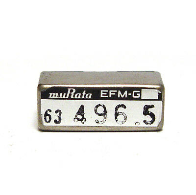 Murata Quarz-Filter / Stimmgabel-Resonator, EFM-G 496.5 Hz Tuning Fork, NOS