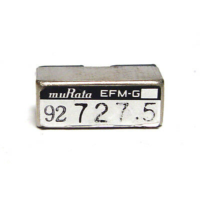 Murata Quarz-Filter / Stimmgabel-Resonator, EFM-G 727.5 Hz Tuning Fork, NOS