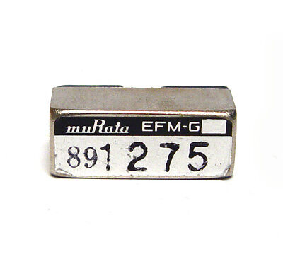 Murata Quarz-Filter / Stimmgabel-Resonator, EFM-G 1275 Hz Tuning Fork, NOS