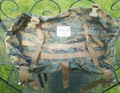 Usmc Ilbe Gen. 2  Lid / Dust Cover To Main Rucksack.