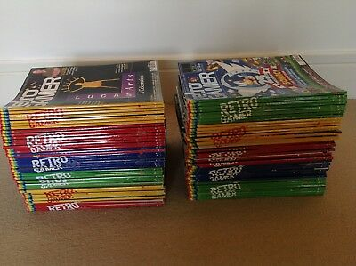 Retro Gamer MagazineCOLLECTION - 87 issues COMPLETE run from Load 73to 158