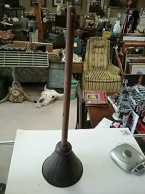 Vintage Metal Hand Powered Clothes Laundry Agitator Plunger Washing RARE MODEL