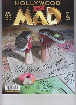Hollywood Goes Mad Magazine August 2018 No Label Issue #2
