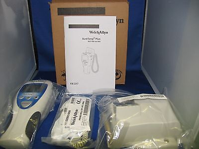 Welch Allyn Suretemp Plus 692 Patient Therm 01692-200 4Ft Probe, Wall Holder