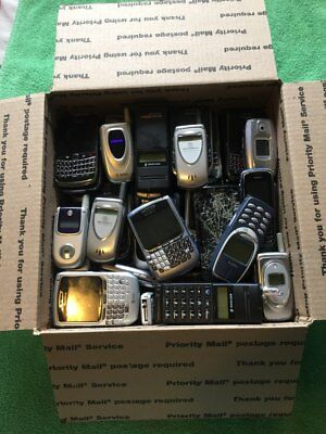 16 pounds of scrap cell phones for scrap gold recovery only, WITHOUT BATTERIES