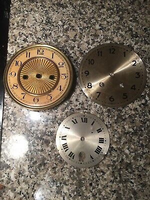 Antique Mantel/ Bracket Clock Faces