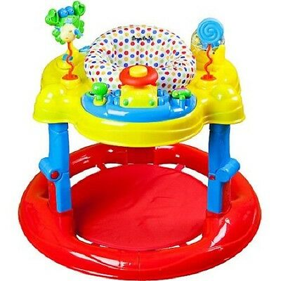 Baby Jumping Bouncer Seat Stand Infant Child Swing Jumper Table Play Toy Gym Set