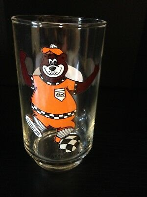 """A&w Root Beer Glass 4 3/4"""" Tall Soccer"""