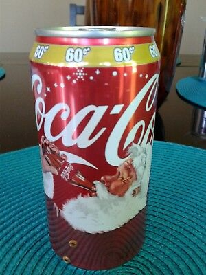 Puerto Rico New Coca Cola  Xmas 2017 Special Edition Santa Coke 10 ounces Can!!