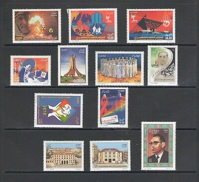 ALGERIA: No.02 / GOOD VALUE LOT OF MODERN ISSUES / Full Sets- All  MNH