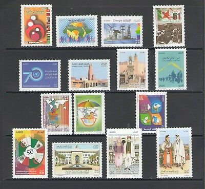 ALGERIA: No.07 / GOOD VALUE LOT OF MODERN ISSUES / Full Sets- All  MNH
