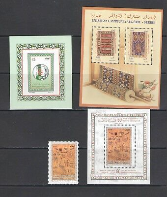 ALGERIA: No.10 / GOOD VALUE LOT OF MODERN ISSUES / Full Sets- All  MNH