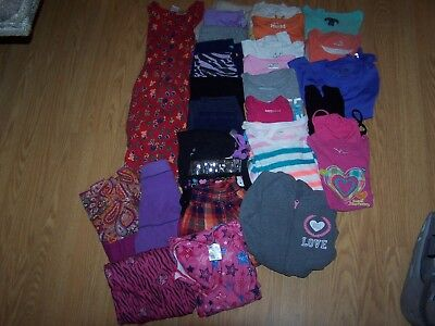 Girls Used Spring/Summer Clothing Size 6/6x Lot of 30 Items