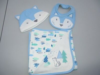 83f569c50f1f GYMBOREE SKY FOREST reversible blanket NWT -  20.00