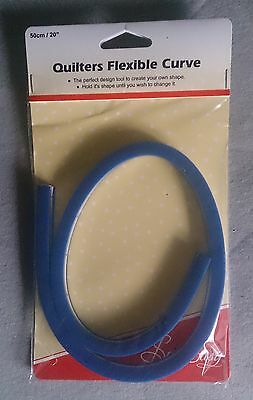 Quilters Flexible Curve 50cm (20in) Sew Easy - scale marked both inches and cms