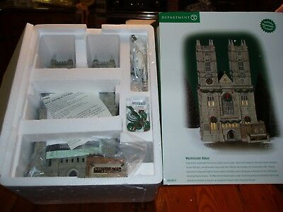 Dept 56 Dickens' Village Westminster Abbey Nib