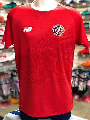 e928bd863a9 New Balance Costa Rica 2018 World Cup Home Jersey Ships from FL Priority  Mail