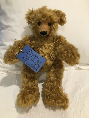 Gorgeous Hand Made Quality Teddy Bear One of a Kind Movable Legs
