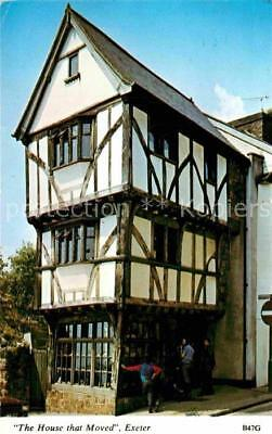 72757282 Exeter The House that Moved Fachwerkhaus Exeter