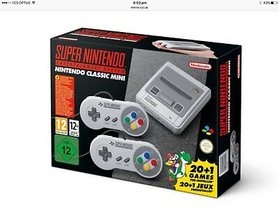 Out of Stock NEW Super Nintendo SNES classic mini 170 Tested Hand Picked games