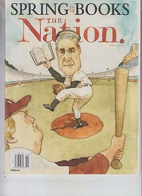 Donald Trump Vs Robert Mueller The Nation Magazine May 28 2018 No Label