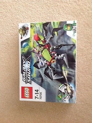 Lego Galaxy Squad 70706 Mint Condition Ages 7-14 Brand New