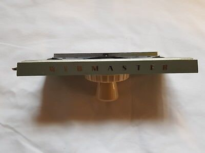 Rare Silver Reed Knitmaster Knitting Machine Ribmaster 1953 K Carriage Working