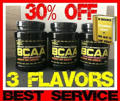 BEST NUTRITION BCAA INSTANT 2:1:1 DRINK 300g Powder Woman Amino Acids Flavor