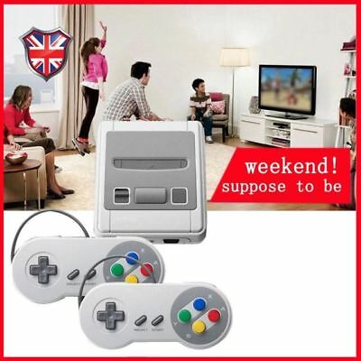 SUPER mini HDMI Built-in 621 Retro TV Game Console 8 Bit Classic + 2 Controller@