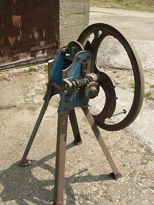 Chaff Cutter Cast Iron Vintage Antique garden ornamental or original use
