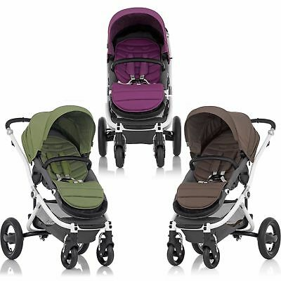Britax Affinity Pushchair Baby Stroller Jogger Pram & Colour Pack Liner Brittax