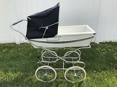 Silver Cross Baby Carriage With Sun Canopy