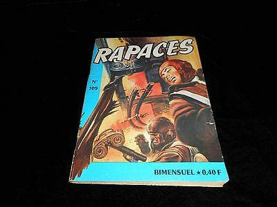 Rapaces 109 Editions Imperia 1er trimestre 1966