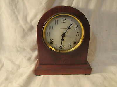 Antique Seth Thomas Parlor Shelf Mantle Clock Parts Or Repair Beehive