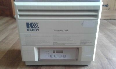 kerry ultrasonic bath mkc6 6ltr (used) good working condition