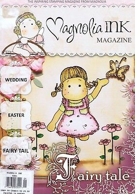 MAGNOLIA INK Magazine No 1 2010 Paper Crafts Stamping Fairy Wedding Easter Theme