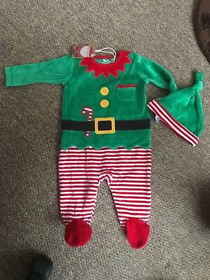 baby Christmas 2 piece outfit NEXT Brand new, first size BNWT, was £12, free P+P