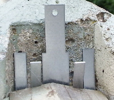 """2 x Fencing Rattling Fence Panel Wind Gale Blown Out Fit 100mm 4"""" Concrete Post"""