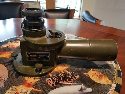 ORIGINAL WW2 M17 ELBOW TELESCOPE SPOTTING SCOPE ARTILLERY SIGHT c78175