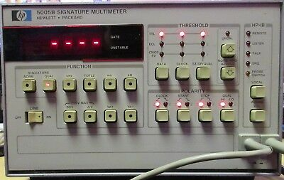 HP - Agilent - Keysight 5005B Signature Analyzer/ Multimeter