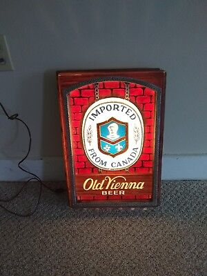 Old Vienna Beer Lighted Sign