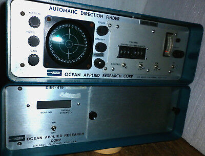 OCEAN  Automatic-Direction-Finder,  ADF 928 mit OCEAN DBR 419, siehe Bilder