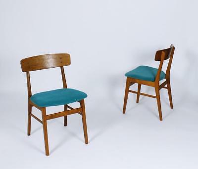 Vintage Mid Century Danish Modern  Dining Chairs From Farstrup Mobler Set Of 2