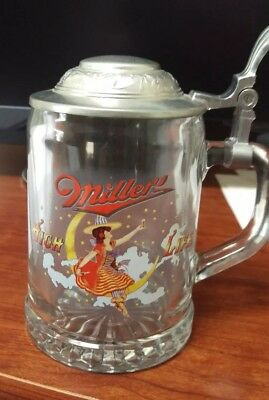 Miller High Life ALWE 1 Pint Lidded Stein