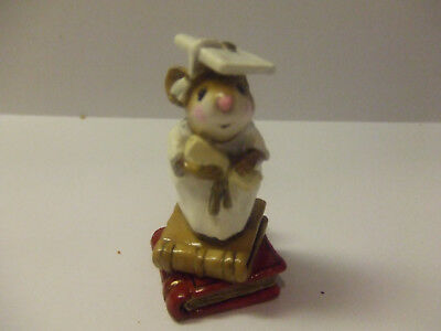 wee forest folk  ap  the graduate pre owned small chip on back see photo