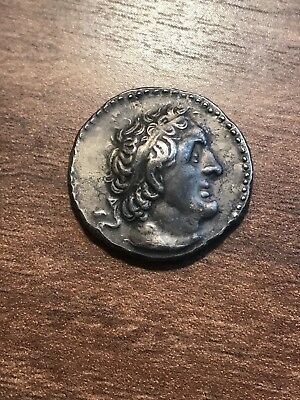 PTOLEMAIC KINGDOM. Ptolemy II 285-246BC AR Tetradrachm! Ancient Coin! Free Ship*