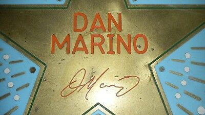 Dan Marino - Miami Dolphins - One of a Kind - Bronze Man Cave - Large Medallion